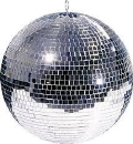 Rental store for Hanging Mirror Ball w 2 Pin Spot Lites in Lansing MI