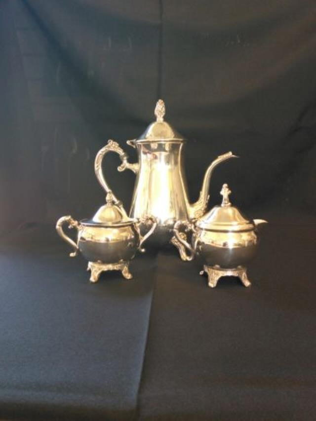 Where to rent Tea Set, Silver in Haslett, Okemos, East Lansing and Greater Lansing