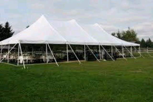 Where to rent Tent, 40  X  80  White Elite Stake Pole in Haslett, Okemos, East Lansing and Greater Lansing