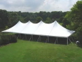 Rental store for Tent, 40  X 100  White Elite Stake Pole in Lansing MI
