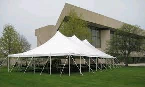 Where to rent Tent, 30  X 60  White Elite Stake Pole in Haslett, Okemos, East Lansing and Greater Lansing