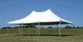 Rental store for Tent, 20  X 30  White Elite Stake Pole in Lansing MI