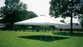 Rental store for Tent, 20  X 20  White Elite Stake Pole in Lansing MI
