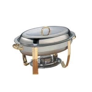 Where to rent Chafer, 6QT Oval w Gold Trim in Haslett, Okemos, East Lansing and Greater Lansing