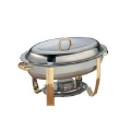 Rental store for Chafer, 6QT Oval w Gold Trim in Lansing MI