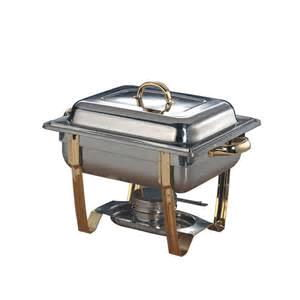 Where to rent Chafer, 4QT Square w Gold Trim in Haslett, Okemos, East Lansing and Greater Lansing