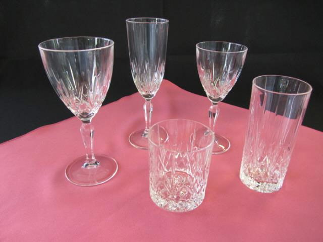 Where to rent Crystal Water Goblet 8 OZ 25 MIN in Haslett, Okemos, East Lansing and Greater Lansing