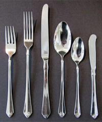 Where to rent Flatware, Julliard Soup Spoon in Haslett, Okemos, East Lansing and Greater Lansing