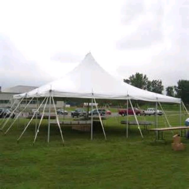 Where to rent Tent, 30  X 30  White Elite Stake Pole in Haslett, Okemos, East Lansing and Greater Lansing