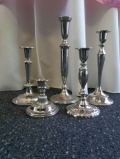 Rental store for Set of 5 Assort Silver Candle Stix in Lansing MI