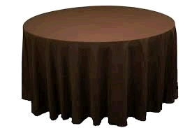 Where to rent 120  Round Choc Brown Linen in Haslett, Okemos, East Lansing and Greater Lansing