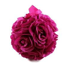 Where to rent 6  Hot Pink Rose Ball - Silk in Haslett, Okemos, East Lansing and Greater Lansing