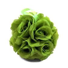 Where to rent 6  Green Rose Ball - Silk in Haslett, Okemos, East Lansing and Greater Lansing
