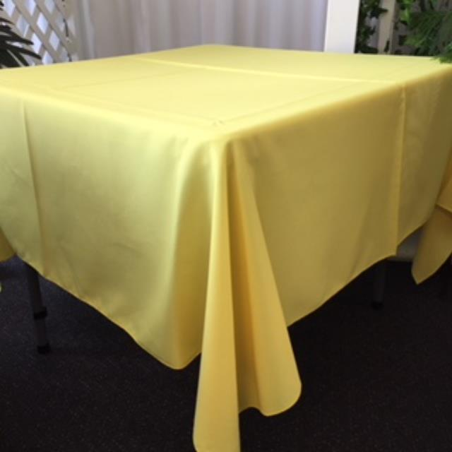 Where to rent 70  Square Yellow Linen in Haslett, Okemos, East Lansing and Greater Lansing