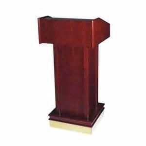 Where to rent Wooden Podium INDOOR USE ONLY in Haslett, Okemos, East Lansing and Greater Lansing