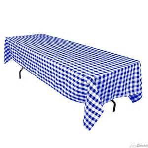 Where to rent 60 x120  Blue   White Check Linen in Haslett, Okemos, East Lansing and Greater Lansing