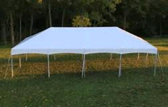 Where to rent Frame Tent 20X40 Aztec Expand in Haslett, Okemos, East Lansing and Greater Lansing