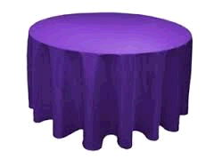 Where to rent 120  Round Purple Linen in Haslett, Okemos, East Lansing and Greater Lansing