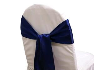 Where to rent Chair Sash, Navy Blue 6  Satin in Haslett, Okemos, East Lansing and Greater Lansing
