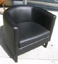 Rental store for Leather Barrel Chair in Lansing MI