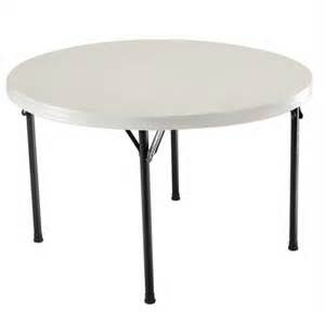 Where to rent Table, 4  Round Plastic Top in Haslett, Okemos, East Lansing and Greater Lansing