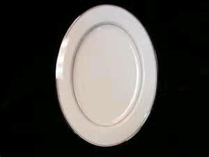 Where to rent 13  Bone China Silver Band Platter in Haslett, Okemos, East Lansing and Greater Lansing