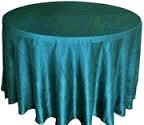 Where to rent 117  RD Turquoise Crinkle Satin Linen in Haslett, Okemos, East Lansing and Greater Lansing