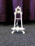 Rental store for Antique Table Easel      Holder Ivory in Lansing MI