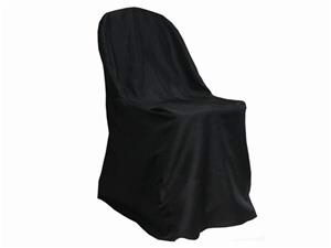 Where to rent Chair Cover, Black Folding Chair in Haslett, Okemos, East Lansing and Greater Lansing