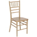 Rental store for Chair, Gold Chiavari Resin INDOOR USE in Lansing MI
