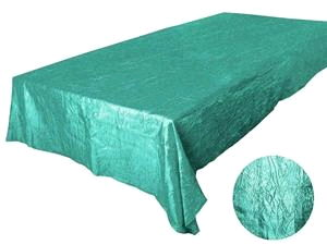 Where to rent 90 X156  Turquoise Crinkle Linen in Haslett, Okemos, East Lansing and Greater Lansing