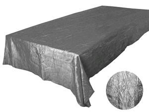 Where to rent 90 X156  Silver Crinkle Satin Linen in Haslett, Okemos, East Lansing and Greater Lansing