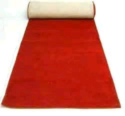 Where to rent 4  x 25  Red Carpet INDOOR USE ONLY in Haslett, Okemos, East Lansing and Greater Lansing