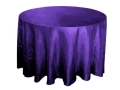 Rental store for 117  RD Purple Crinkle Satin Linen in Lansing MI