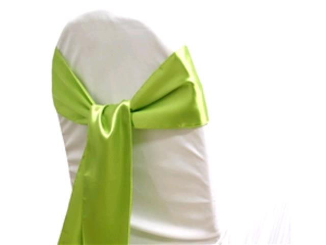 Where to rent Chair Sash, Sage Green Satin 6 in Haslett, Okemos, East Lansing and Greater Lansing