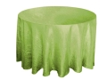 Rental store for 117  RD Apple Green Crinkle Satin Linen in Lansing MI