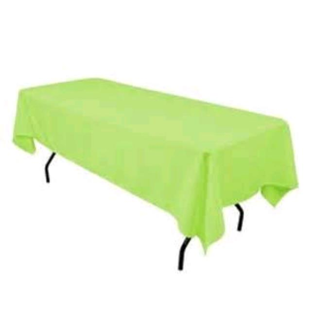 Where to rent 60 x120  Lime Green Linen in Haslett, Okemos, East Lansing and Greater Lansing