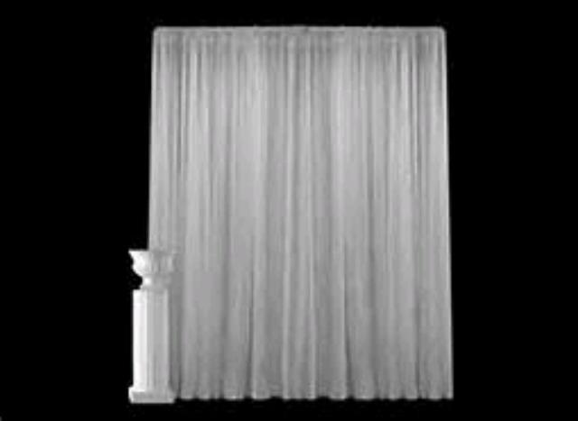 Where to rent 8  x 60  Ivory Sheer Voile Drape in Haslett, Okemos, East Lansing and Greater Lansing