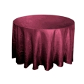 Rental store for 117  Rd Burgundy Crinkle Satin Linen in Lansing MI
