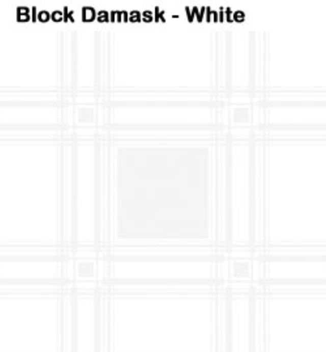 Where to rent 108  Rd White Block Damask Linen in Haslett, Okemos, East Lansing and Greater Lansing