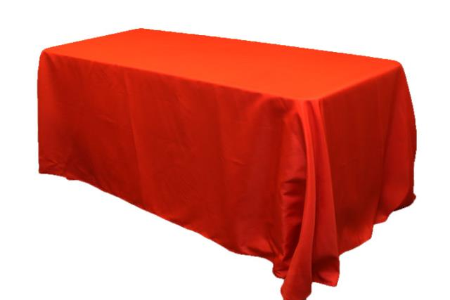 Where to rent 90x156  Rectangle Holiday Red Linen in Haslett, Okemos, East Lansing and Greater Lansing