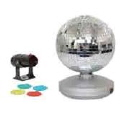 Rental store for Tble Top Mirror Ball w 2 Pin Spot Lites in Lansing MI