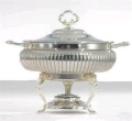 Rental store for Chafer, 8QT Round Ornate Silver in Lansing MI