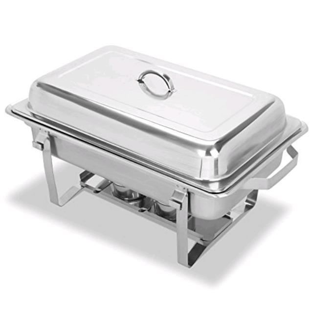 Where to rent Chafer, 8QT Stainless Rectangle in Haslett, Okemos, East Lansing and Greater Lansing