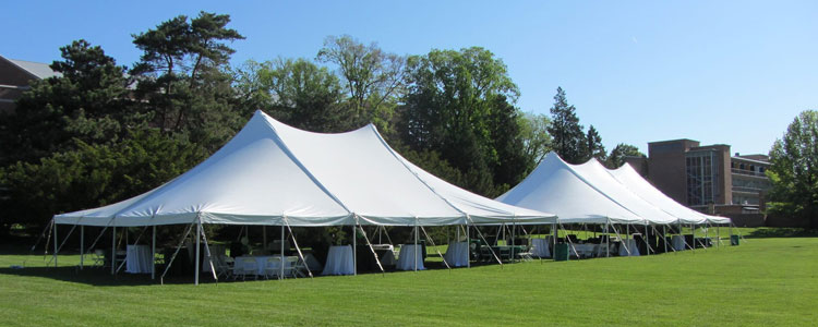 Canopy tent rentals in Haslett, Okemos, East Lansing and Greater Lansing